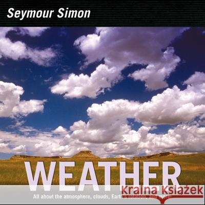 Weather Seymour Simon 9780060884390
