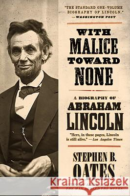 The life of abraham lincoln in the eyes of stephen oates