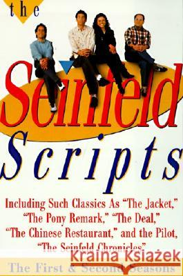 The Seinfeld Scripts: The First and Second Seasons Jerry Seinfeld Larry David 9780060953034
