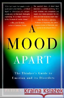A Mood Apart Peter C. Whybrow 9780060977405
