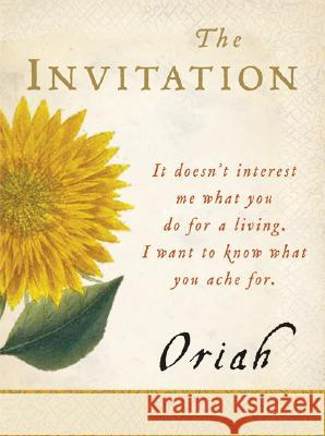 The Invitation Oriah 9780061116711