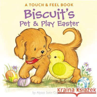 Biscuit's Pet & Play Easter: A Touch & Feel Book Alyssa Satin Capucilli Rose Mary Berlin Pat Schories 9780061128394