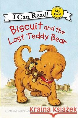 Biscuit and the Lost Teddy Bear Alyssa Satin Capucilli Pat Schories 9780061177538