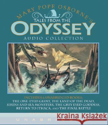 Tales from the Odyssey Audio Collection Mary Pope Osborne James Simmons 9780061254574 Harper Children's Audio