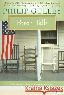 Porch Talk LP Philip Gulley 9780061340239