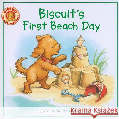 Biscuit's First Beach Day Alyssa Satin Capucilli Pat Schories 9780061625152