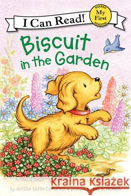 Biscuit in the Garden Alyssa Satin Capucilli Pat Schories 9780061935053