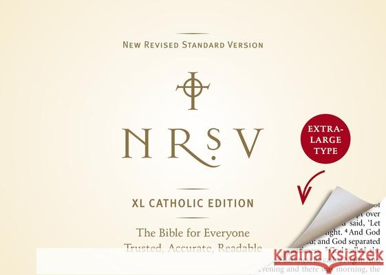 NRSV XL, Catholic Edition, Hardcover, Navy Bibles Harper 9780061946547