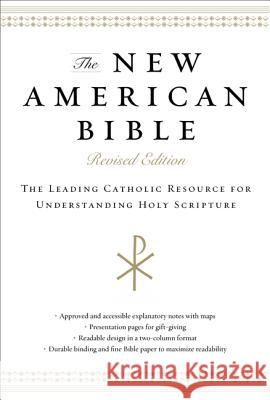 New American Bible-NABRE HarperOne 9780062084736
