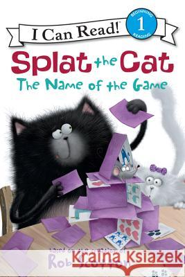 Splat the Cat: The Name of the Game Rob Scotton Rob Scotton 9780062090140