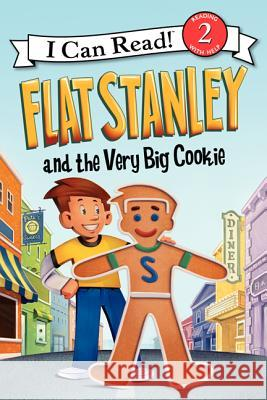 Flat Stanley and the Very Big Cookie Jeff Brown Macky Pamintuan 9780062189783