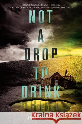 Not a Drop to Drink Mindy McGinnis 9780062198501 Katherine Tegen Books
