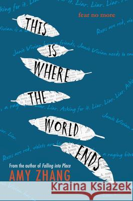 This Is Where the World Ends Amy Zhang 9780062383051