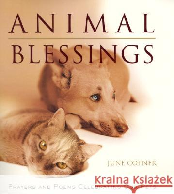 Animal Blessings: Prayers and Poems Celebrating Our Pets June Cotner 9780062516459