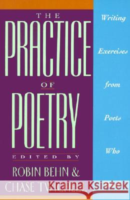 The Practice of Poetry: Writing Exercises from Poets Who Teach Robin Behn Chase Twichell Chase Twitchell 9780062730244