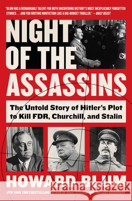 Night of the Assassins Howard Blum 9780062872906