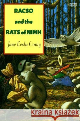 Racso and the Rats of NIMH Jane Leslie Conly Leonard Lubin 9780064402453