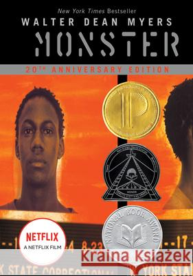 Monster Walter Dean Myers Christopher A. Myers 9780064407311 Amistad Press