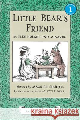 Little Bear's Friend Else Holmelund Minarik Maurice Sendak 9780064440516