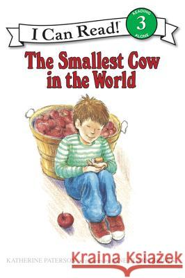 The Smallest Cow in the World Katherine Paterson Jane C. Brown Jane Clark Brown 9780064441643 HarperTrophy
