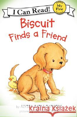 Biscuit Finds a Friend Alyssa Satin Capucilli Pat Schories 9780064442435