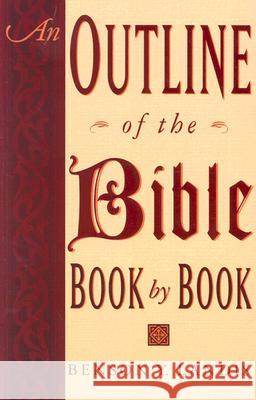 An Outline of the Bible Benson Y. Landis 9780064632638
