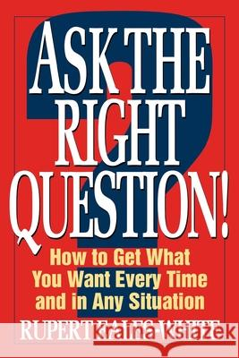 Ask the Right Question Rupert Eales-White 9780070187221