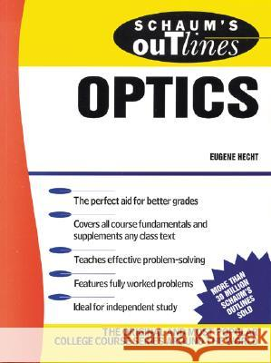 Schaum's Outline of Optics Eugene Hecht 9780070277304 McGraw-Hill Companies