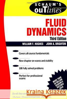 Schaum's Outline of Fluid Dynamics William F Hughes 9780070311183