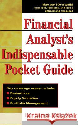 Financial Analyst's Indispensible Pocket Guide Ram Ramesh 9780071361569