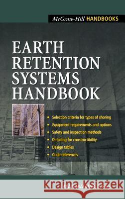 Earth Retention Systems Handbook Alan Macnab 9780071373319