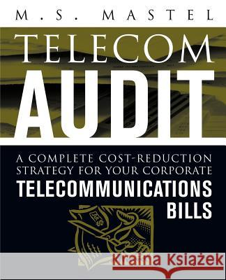 Telecom Audit M. S. Mastel Linda D. Williams 9780071410540