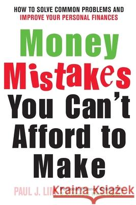 Money Mistakes You Can't Afford to Make Paul Lim 9780071412896