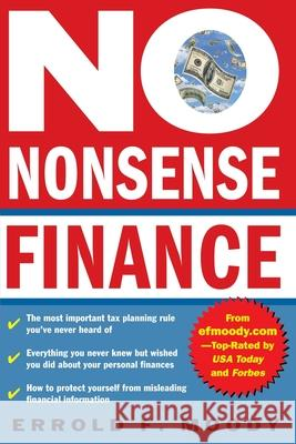 No-Nonsense Finance Errold F. Moody 9780071413305