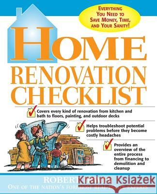 Home Renovation Checklist Robert Irwin 9780071415033