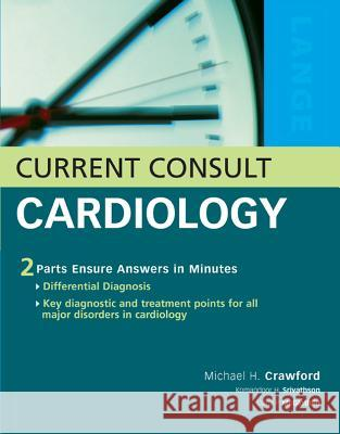 Current Consult Cardiology Michael H. Crawford 9780071440103