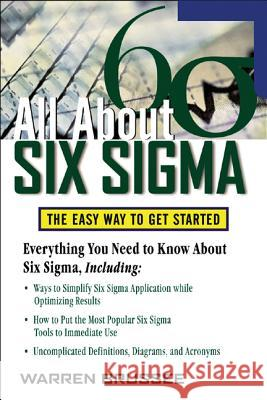 All About Six Sigma Warren Brussee 9780071453721