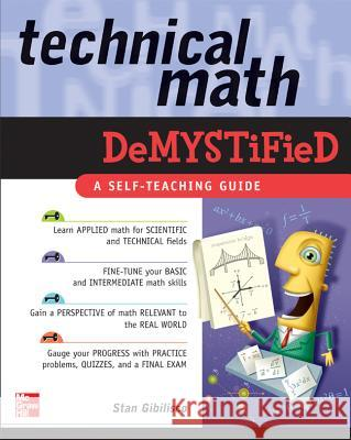 Technical Math Demystified Stan Gibilisco 9780071459495 0