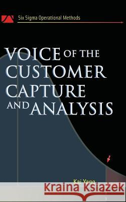 Voice of the Customer Kai Yang 9780071465441