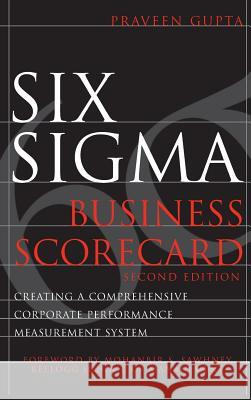 Six Sigma Business Scorecard Praveen Gupta 9780071479431