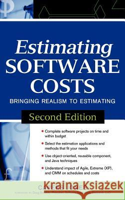 Estimating Software Costs: Bringing Realism to Estimating Capers Jones 9780071483001
