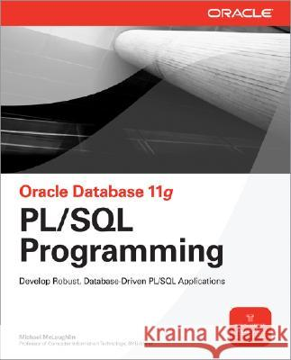 Oracle Database 11g PL/SQL Programming Michael McLaughlin 9780071494458