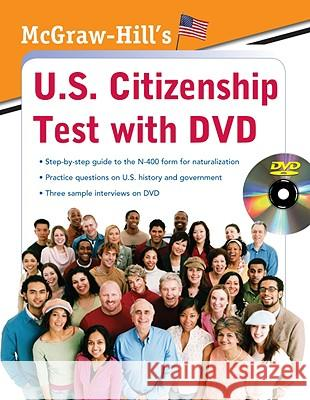 McGraw-Hill's U.S. Citizenship Test with DVD Karen Hilgeman 9780071605168