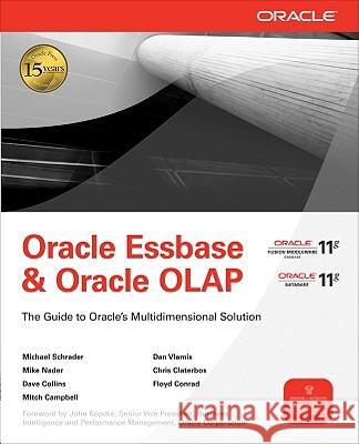 Oracle Essbase & Oracle OLAP  9780071621823