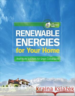 Renewable Energies for Your Home: Real-World Solutions for Green Conversions Gehrke Russel                            Wiley Dale                               Dale Wiley 9780071622851