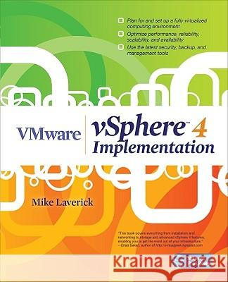 VMware vSphere 4 Implementation Laverick Mike 9780071664523