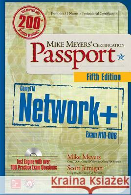 Mike Meyers' Comptia Network+ Certification Passport, Fifth Edition (Exam N10-006) Michael Meyers Scott Jernigan 9780071847964
