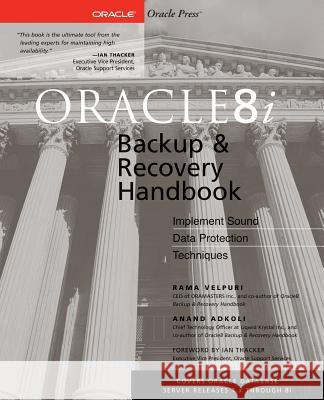 Oracle8i Backup & Recovery Rama Velpuri Anand Adkoli George Williams 9780072127171