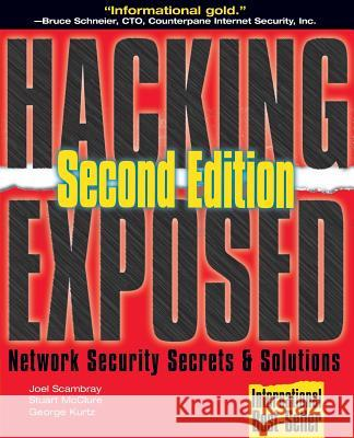 Hacking Exposed Joel Scambray Stuart McClure George Kurtz 9780072127485