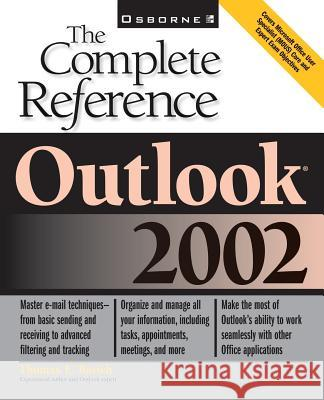 Outlook Thomas E. Barich 9780072132748 McGraw-Hill Companies